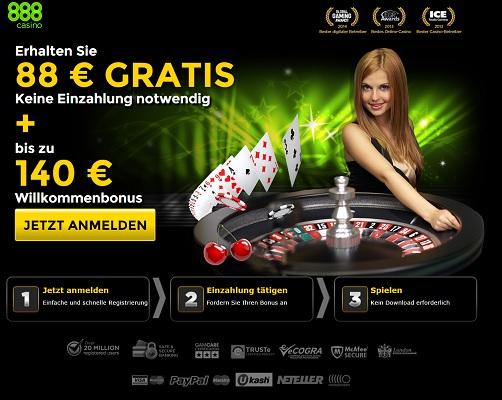 bei 888 casino abmelden